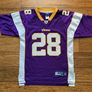 Minnesota Vikings Peterson 28 Football Jersey